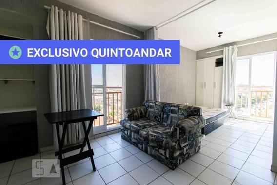 Studio No 8º Andar Mobiliado Com 1 Dormitório E 1 Garagem - Id: 892947798 - 247798