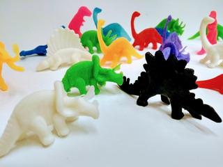 Dinosaurios De Goma X 24 - Souvenirs Bolsitas De Cumple