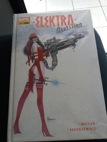 Imagem 1 de 2 de Elektra Assassina Ed. De Luxo Capadura F. Miller Nova.