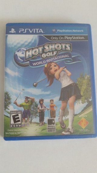 Jogo Ps Vita Hot Shots Golf World Invitational - Oirginal