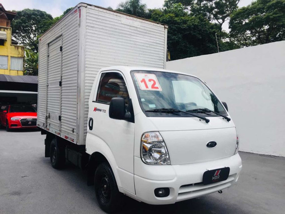 Kia Bongo 2.5 Std 4x2 Rs Turbo C/ Baú 2p 2012