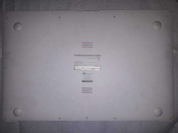 Carcaça Tampa Notebook Multilaser Legacy Pc102 Ml-w145 A205