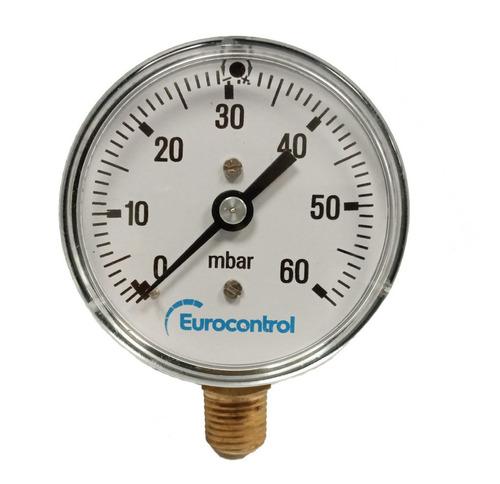 Manómetros Para Gas 0 A 60 Mbar Eurocontrol
