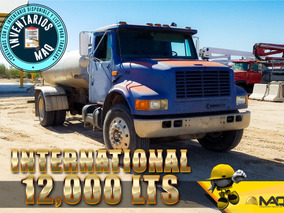 Camion Pipa De Agua International 12,000 Lts 1996