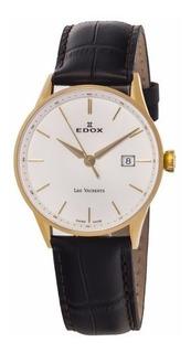 Reloj Edox Les Vauberts Big Date 70172 37ja Aid Hombre