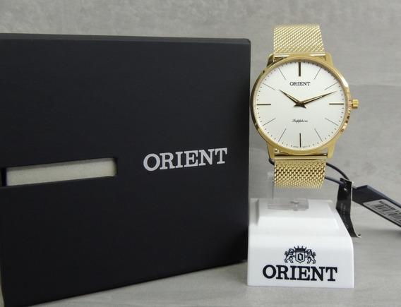 Relógio Orient Sapphire Slim Masculino Mgsss005 S1kx - Nf