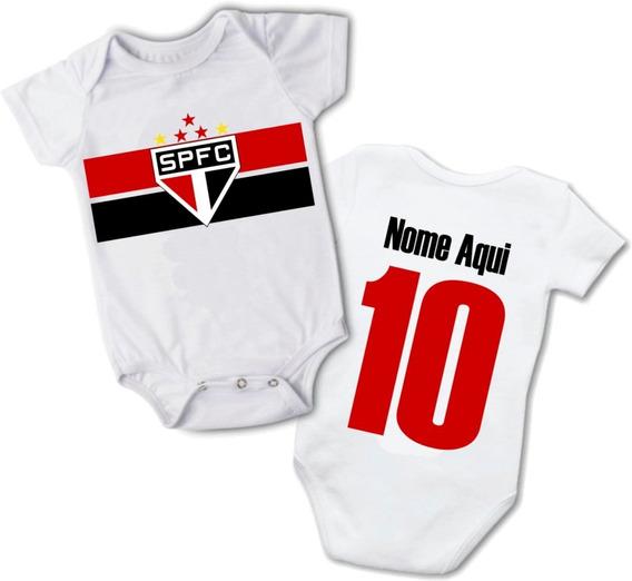 Body Infantil Personalizado C/ Nome Roupas De Bebê São Paulo