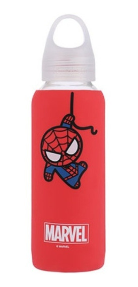 Garrafa De Vidro Miniso - Homem Aranha