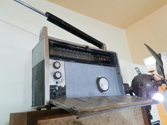 Rádio Antigo Zenith Trans-oceanic