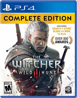 The Witcher 3 Wild Hunt Edicion Completa Ps4 Nuevo