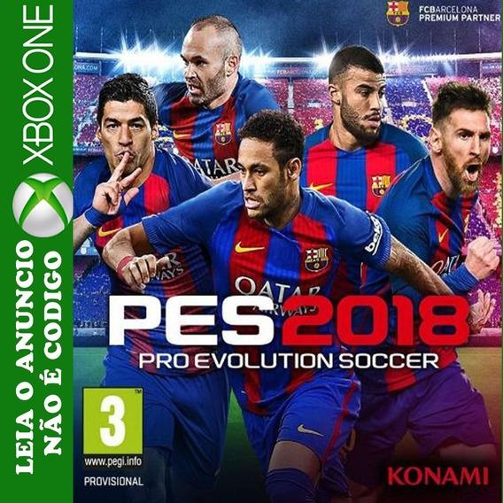 Pes 2018 Xbox One Mídia Digital