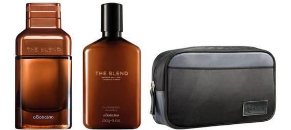 Kit The Blend Eau De Parfum, Shower Gel E Bolsa Boticário