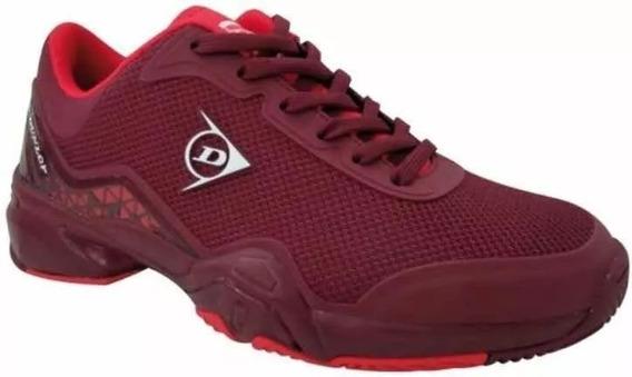 Zapatillas Dunlop Srixon Tenis Padel + Muñequeras De Regalo