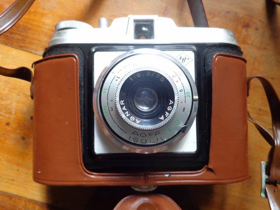 Câmera Fotográfica Isola Ii Com Estojo E Na Caixa Original