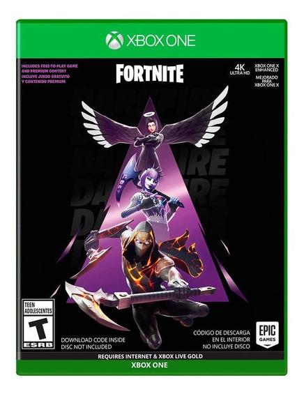 Jogo Fortnite Novo Pack Pacotao Fogo Sombrio Para Xbox One