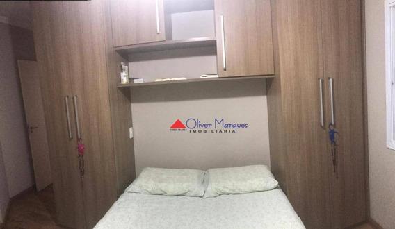 Apartamento Com 2 Dormitórios À Venda, 50 M² Por R$ 255.000,00 - Centro - Jandira/sp - Ap7060