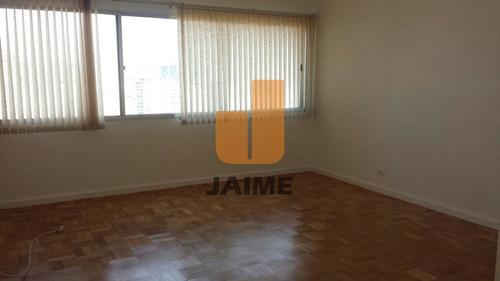 Apartamento Para Locação No Bairro Higienópolis Em São Paulo - Cod: Ja5262 - Ja5262