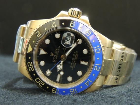 Relógio Gmt Master Rolex Automático A Prova D