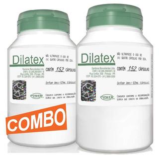 2 Dilatex Extra Pump Original 304 Capsulas Power Supplements
