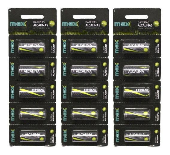 25 Pilhas Baterias A23 Maxprint 12v