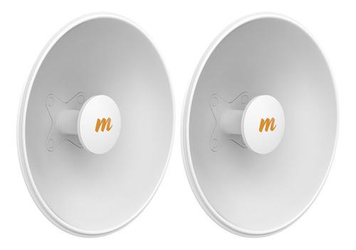Imagen 1 de 1 de Dos Antenas Mimosa 4.9-6.4ghz 42.9cm 45° 25dbi Para C5x