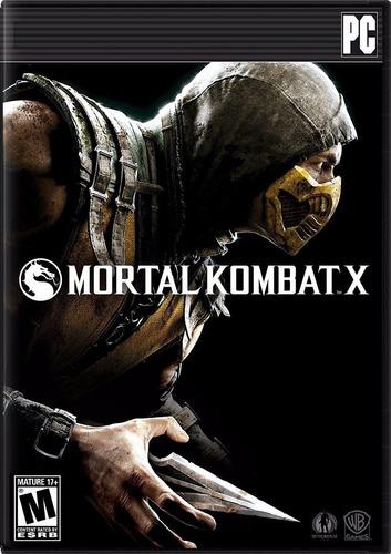 Mortal Kombat X 10 Juego Pc Original Steam Español Online