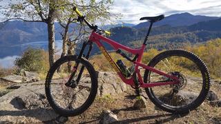 Santa Cruz Bronson 2017 Bici, Carbono, L, Muy Buen Estado