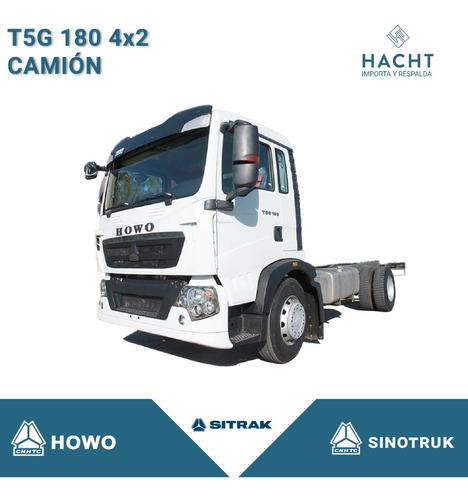 Sinotruk T5g 180 4x2 Camión Chasis Cabina