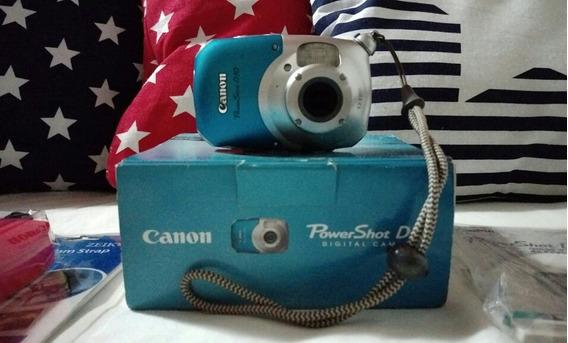 Cámara Digital, Acuática, Canon D10, Powershot, Poco Uso