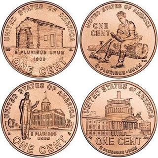 Centavos De Lincoln Set De 8 Piesas (bu- Uncirculate)