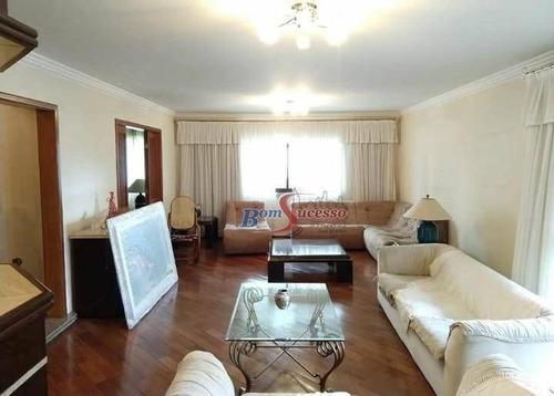 Imagem 1 de 21 de Apartamento Com 4 Dormitórios À Venda, 280 M² Por R$ 1.360.000,00 - Jardim Anália Franco - São Paulo/sp - Ap2192