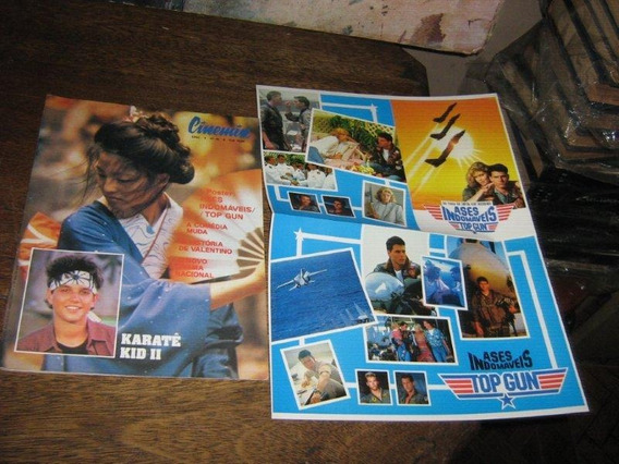 Cinemin Nº 26 Com Poster Top Gun Ases Indomaveis Ebal