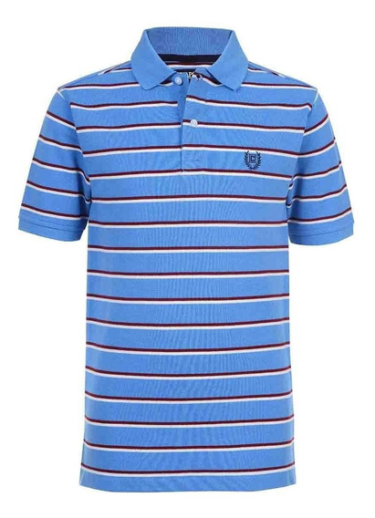Playera Polo Cooper Color Azul Chaps