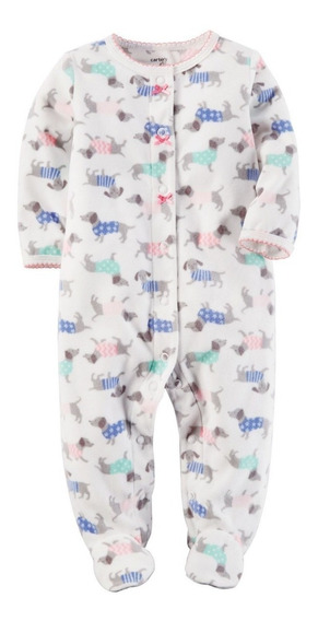 Pijamas Carters Micropolar. Talles Rn A 24m. Importados Usa
