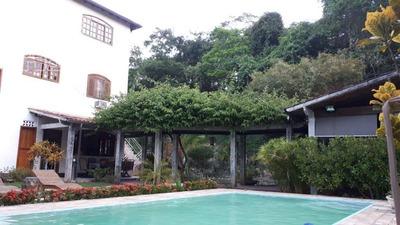 Excelente Casa Em Seleto Com Apenas 6 Casas Com Muita Privacidade, Tranquilidade E Segurança, O Condomínio E Cercado Por 3 Clube - Ca0668