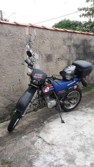 Honda Xlr 125 Preta 2001