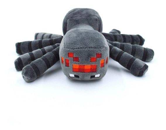 Boneco Brinquedo Aranha De Pelúcia