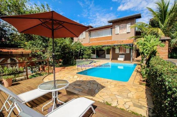 Casa Residencial Para Venda, Cidade Universitária, Campinas. - Ca0799