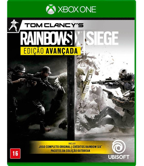 Tom Clancys Rainbow Six Siege Xbox One Disco Físico Lacrado