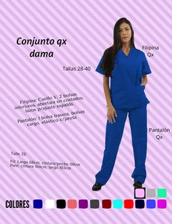 Filipinas Quirúrgicas O Pantalón 4 Pz. Colores, Tela Bonita!