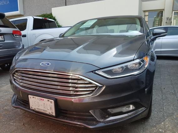 Ford Fusion 2.0 Se Luxury Plus At 2017 Credito