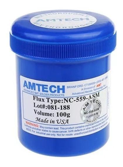Fluxo De Solda Pastoso Amtech Nc-559-asm 100g Bga Reballing