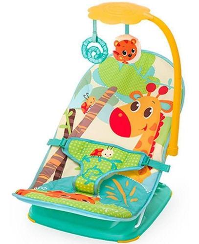 Cadeira De Descanso Mus/vib Com Reclinio Girafa Mastela