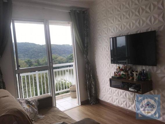 Apartamento Com 2 Dormitórios À Venda, 53 M² Por R$ 263.000,00 - Morro De Nova Cintra - Santos/sp - Ap3434
