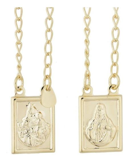 Escapulário Sagrado Coração De Jesus E Maria Garantia 1 Ano