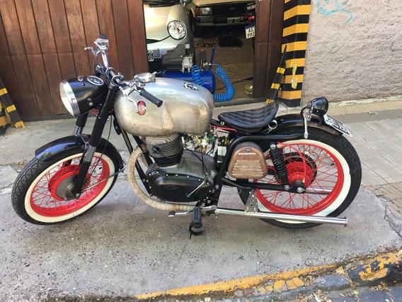 Moto Antigua Gilera B 300 Boober Recien Hecho