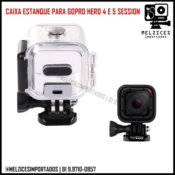 Caixa Estanque Para Gopro Hero 4 E 5 Session