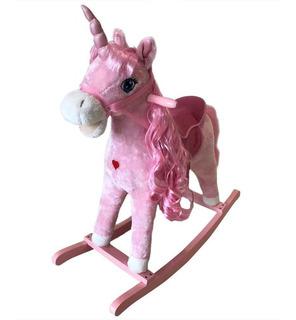 Mecedor Caballito Unicornio De Peluche Penny Wo393