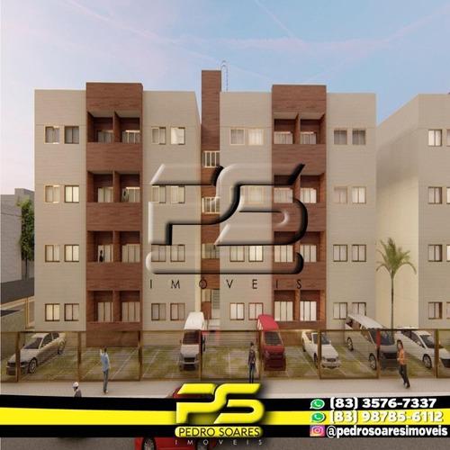 Apartamento Com 2 Dormitórios À Venda, 48 M² Por R$ 123.000 - Novo Geisel - João Pessoa/pb - Ap2790