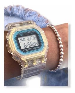 Reloj Digital Feraud Sk83 Vintage Simil Casio Anivers Tagger
